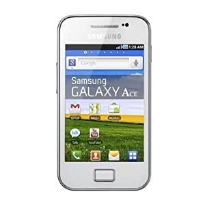 Samsung Galaxy Ace S5830 (Le Fleur White): Brand New Original Samsung Unlocked Android GSM Phone