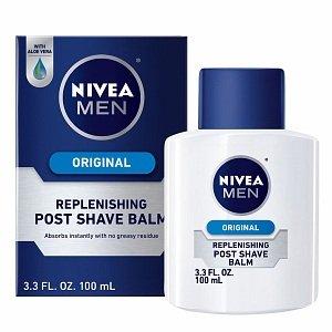 ニベア シェービングバーム オリジナル Nivea for Men Post Shave Balm, Replenishing 3.3 fl oz