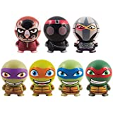 Teenage Mutant Ninja Turtles Tnmt Buildables Mini Figures (Set Of 7)