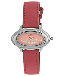 Maxima Attivo Analog Pink Dial Womens Watch - 24302LMLI