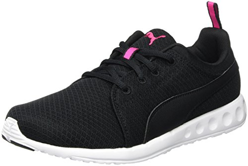 Puma CarsonMeshWF6, Scarpe da Atletica Leggera Donna, Nero (Black/Pink 03BLACK/Pink 03), 39 EU