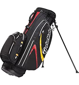 TaylorMade Supreme Hybrid 2.0 Stand Bag (Black/White/Red)