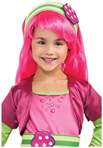 Strawberry Shortcake - Raspberry Torte Wig (Child) from Rubies Costumes