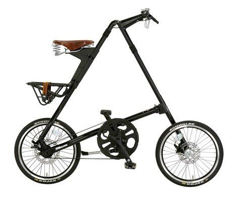 STRIDA(ストライダ)18インチ折り畳み自転車STRIDX SX マッドブラック STRIDA SX