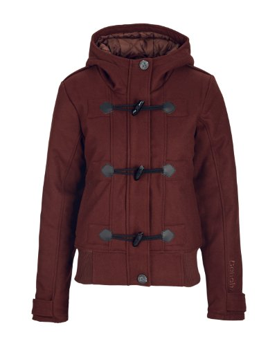 Bench Damen Jacke Elami, rum raisin, XL, BLKA1592_BR103