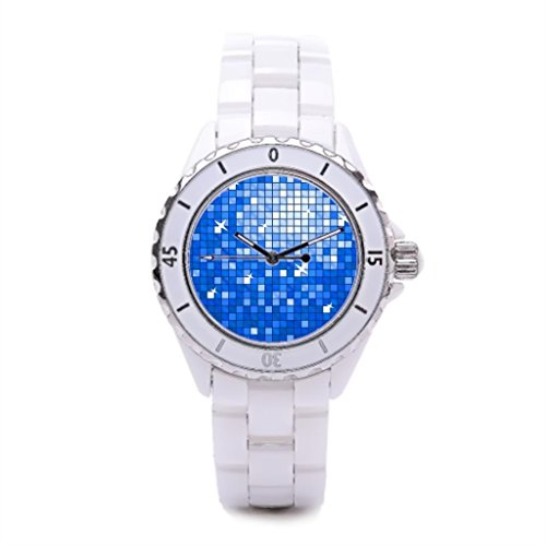 Tiled Casual Watches Mirror Ball Trendy Watches Disco Ball Dress Watches