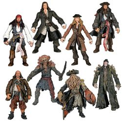 Buy Low Price Zizzle Pirates Of The Caribbean 2: Basic Figure 8-Pack 3.75″ (B000HVXF9K)