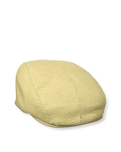 John Varvatos  Men's Straw Ivy Hat, Desert Sand