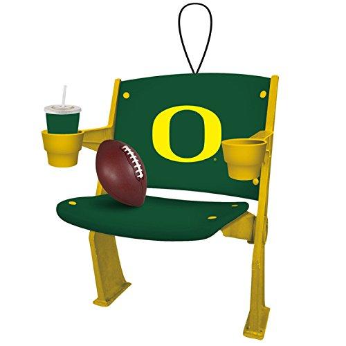 Oregon Ducks Official NCAA 4 inch x 3 inch Stadium Seat Ornament
