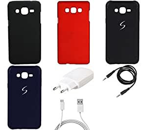 NIROSHA Cover Case Charger for Samsung Galaxy ON5 - Combo