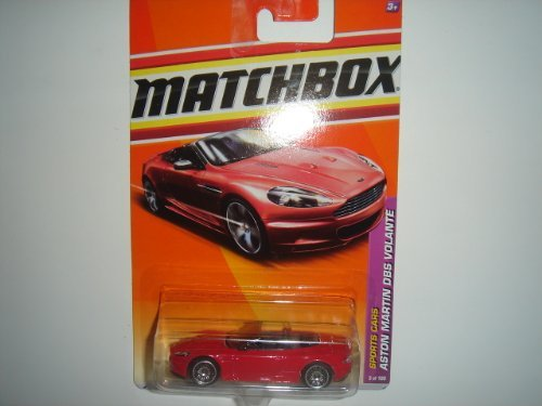 2011 Matchbox Aston Martin DBS Volante Red #5 of 100 by Mattel - 1