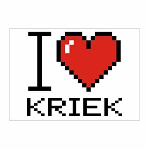 teeburon-i-love-kriek-pixelated-pack-of-4-stickers