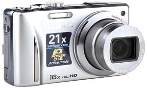 "Panasonic Lumix DMC-TZ20EG-S - Cámara digital compacta 14 MP (Zoom 16x, pantalla táctil de 3"", 24mm, Leica) - plateado"