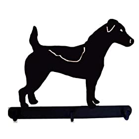 Jack Russell Terrier Leash Holder Metal