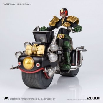2000 AD Lawmaster and Judge Dredd 1:12 Scale Action Figure and Vehicle