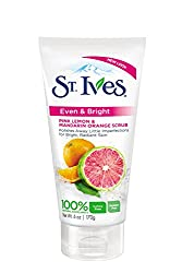 St. Ives Even and Bright Pink Lemon and Mandarin Orange Scrub 6 Fluid Ounce