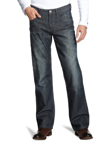Esprit Men's 5-Pocket Low Rise  Trousers  Reg. Stone Wash 33/34