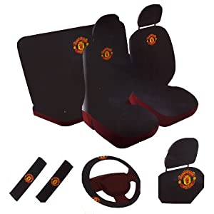 Soccer News: Manchester United Car Back Seat Covers