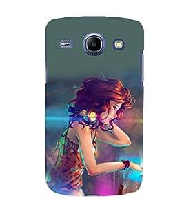 printtech Beautiful Anime Girl DJ Back Case Cover for Samsung Galaxy A3 / Samsung Galaxy A3 A300F