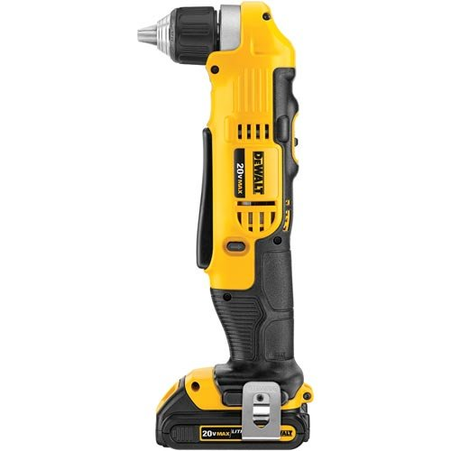 Lowest Prices! DEWALT DCD740C1 20-Volt MAX Lithium-Ion Compact Right Angle Drill Kit, 1.5 Ah