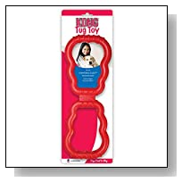 KONG Tug Toy Dog Toy, Red