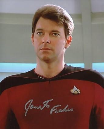 Frakes Signed / Autographed Star Trek Commander William T. Riker