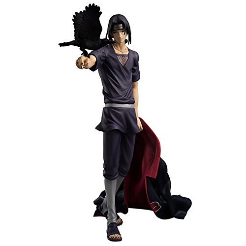 SunSlight Anime Naruto Shippuden Uchiha Itachi Brinquedos PVC Action Figure Toys Collectible Model Doll Juguetes Kids Toys 23cm (Beethoven Action Figure compare prices)
