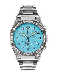 Aqua Master Men's Octagon Diamond Watch, 4.50 ctw