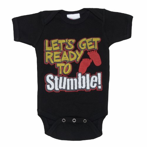 Lollipop Moon Lets Get Ready To Stumble Baby Creeper front-806093