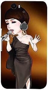 PRINTVISA Music Singer Case Cover for Huawei Nexus 6P