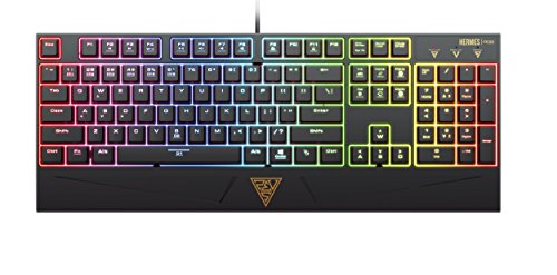 GAMDIAS HERMES RGB MECHANICAL KEYBOARD, Blue Switch (GKB1050)