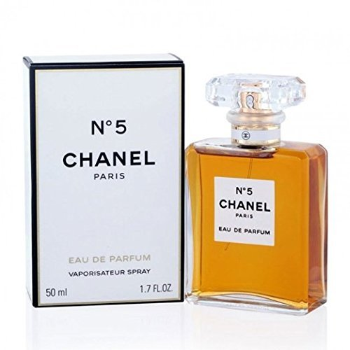 LuxuryFragrance discount duty free Women Perfume CHANEL_No 5 Eau De Parfum Spray 1.7 FL OZ