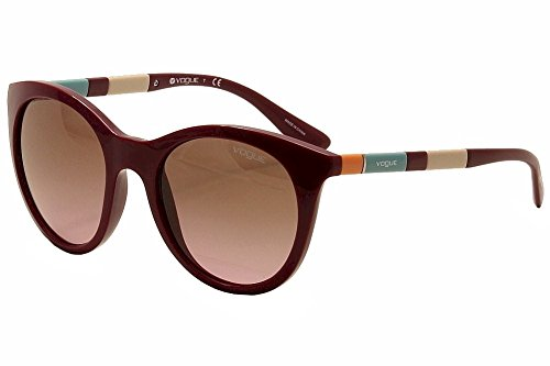 Vogue 2971 232414 Dark Bordeaux 2971S Cats Eyes Sunglasses Lens Category 2 Lens