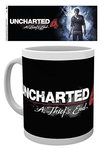 GB eye, Uncharted 4, A Thiefs End, Tazza