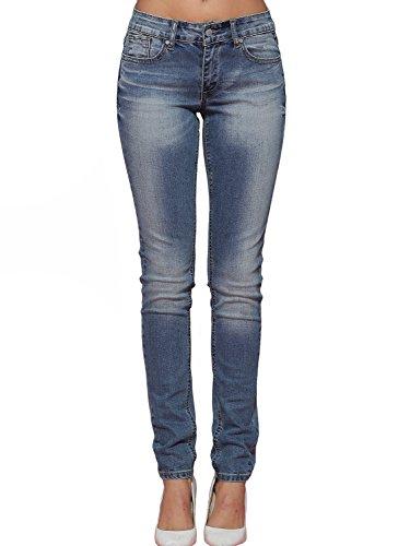 Alice-Elmer-Damen-Mid-Rise-Skinny-Jeans