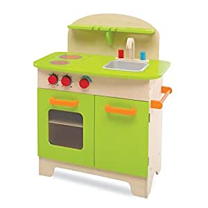 Deluxe kitchen play set toys games for Kitchen set game