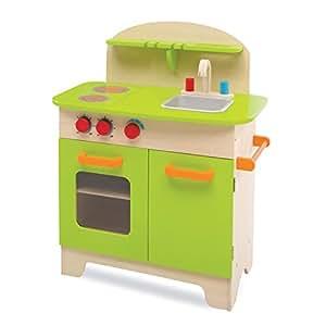 Deluxe kitchen play set toys games for Kitchen set toys amazon