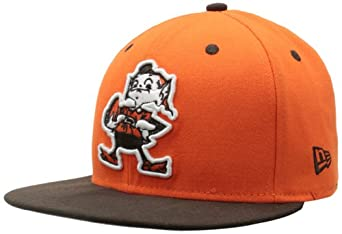 NFL Cleveland Browns Two Tone 59Fifty Fitted Cap by New Era