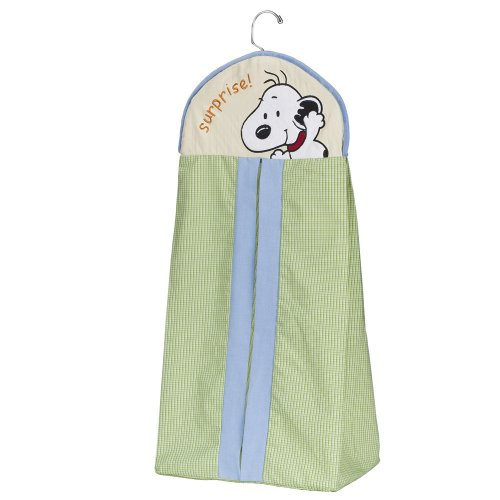 Lambs & Ivy Peek-A-Boo Snoopy Diaper Stacker