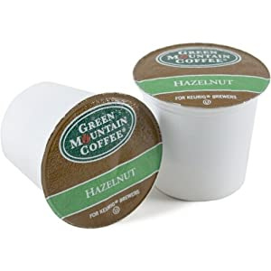 Green Mountain Hazelnut Coffee Keurig K-Cups, 108 Count