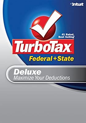 TurboTax Deluxe Federal + State 2007