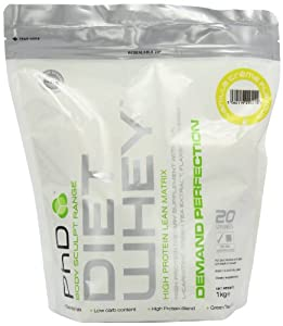 PhD Vanilla Creme Flavoured Diet Whey Protein Powder 1kg