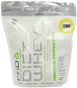PhD Vanilla Creme Flavoured Diet Whey Protein Powder 1kg