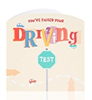 Passed Your Driving Test Greetings Card