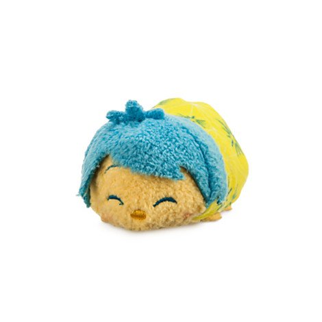 Disney Inside Out Tsum Tsum Joy Exclusive 3 3/4 Plush new in box tsum tsum stack n play toy shop original