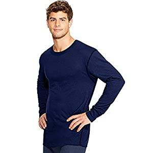 Duofold by Champion Thermals Mid-Weight Men's Long-Sleeve Base-Layer Shirt KMW1