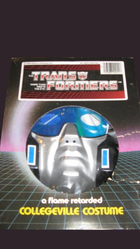 [Vintage 1984 Collegeville Costume - Transformers Jumpstarter - Large] (Collegeville Costumes Company)