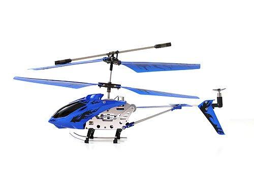 Helizone RC Firebird Gyroscope Mini Helicopter - Blue
