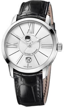 Ulysse Nardin Luna Stainless Steel Watch