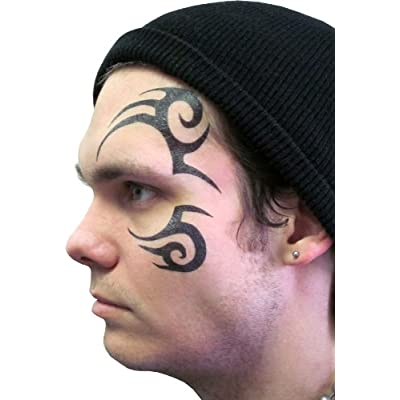 Face Temporary Tattoo
